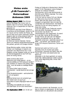 2009 Ardennen mit den FJR-Tourern