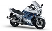 FJR 1300 A (RP11) Metallic Silver with Rock Slate Blue